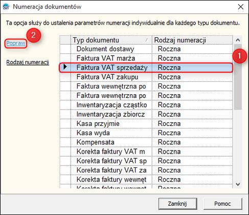 Jak Dodać Rozszerzenie Do Numeru Dokumentów Insert Gt Subiekt Gt
